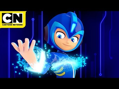 Mega Man: Fully Charged | Meet Man Man | Cartoon Network