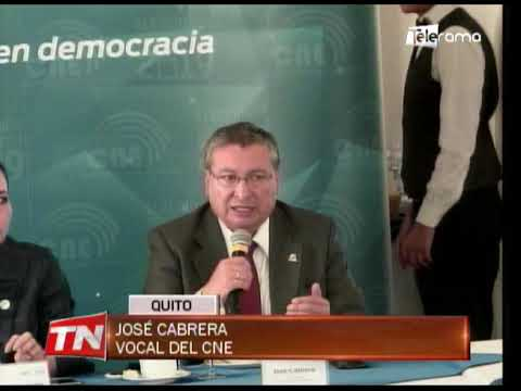 CNE: Resultados de elecciones aparecerán después de la 20h30 del 24 de marzo