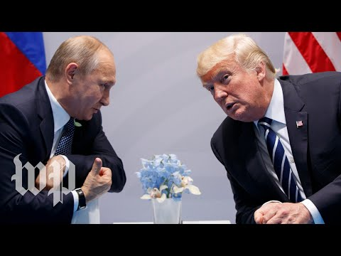 Trump meets with Russian President Vladimir Putin