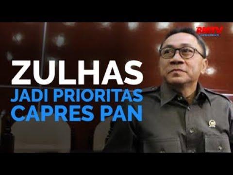 Zulhas Jadi Prioritas Capres PAN