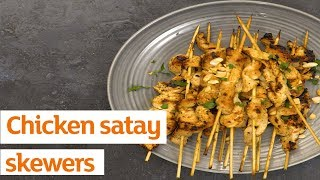 Anyone else want to party round Selasi's? See ya next to the chicken satays 👀 [https://recipes.sainsburys.co.uk/recipes/main-courses/chicken-satay-skewers]