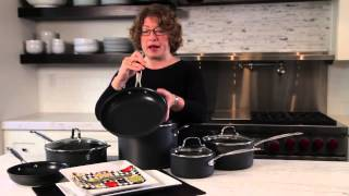 Chef's Classic™ Nonstick Hard Anodized 10 Piece Set Demo Video Icon
