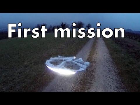 Millenium Falcon drone