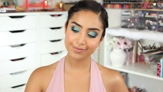 Under the Sea Summertime Makeup Tutorial by Dulce Candy