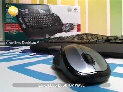 Logitech Cordless Desktop Wave @ pakom.com