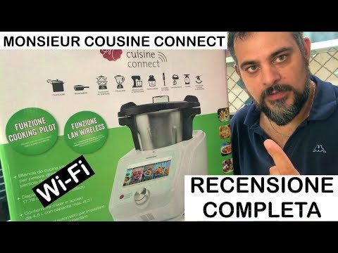 Monsieur Cousine Connect. RECENSIONE COMPLETA. lidl. silver crest. bimby wi-fi wifi. Plus display.