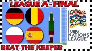 Marble Race - UEFA Nations League 2018/19 Prediction - League A Final, 3rd & Semi Finals  - Algodoo