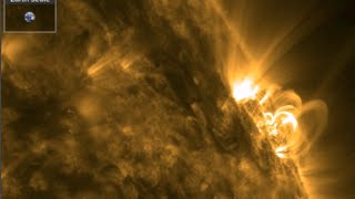 Solar Flares, Magnetic Storm | S0 News March 2, 2015