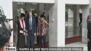 Video Di Indonesia, Waspres AS Mike Pence Kunjungi Masjid Istiqlal - iNews Malam 20/04 MP3, 3GP, MP4, WEBM, AVI, FLV Desember 2017