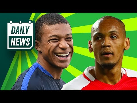 TRANSFER NEWS: Fabinho Signs For Liverpool & Mbappe To Manchester United? ► Daily Football News