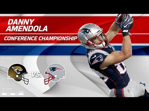 Video: Danny Amendola's 2 TD Day Sends Pats to Super Bowl | Jags vs. Patriots | AFC Championship Player HLs