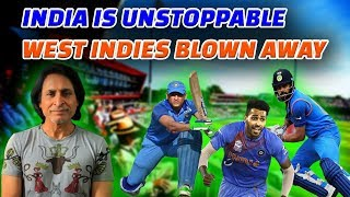 India is unstoppable | West Indies blown away