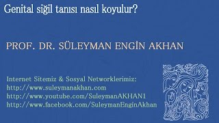 Genital Siğil Tanısı Nasıl Koyulur? - Prof. Dr. Süleyman Engin Akhan