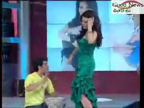 رقص دينا وسعد الصغير