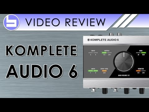Native Instruments Komplete Audio 6 Review