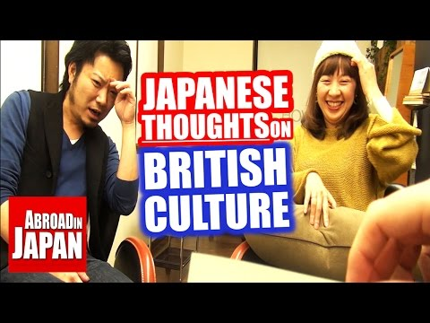 Video Japanese thoughts on British Culture download in MP3, 3GP, MP4, WEBM, AVI, FLV January 2017