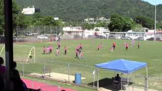 9 Year Old Soccer Player Daniel Rosario Vs 11 Year Old Kids. Temporal Azul