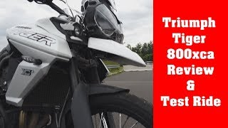 1. Triumph Tiger 800 XCA review & test ride