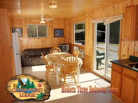 Cedar Point Lodge Modern Three Bedroom Cabins