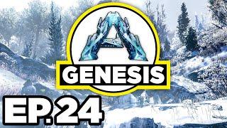 ARK: Genesis Ep.24 - FEROX TAME ATTEMPT, JETPACK & GLIDE SUIT BACKPACK! (Modded Gameplay Let's Play)