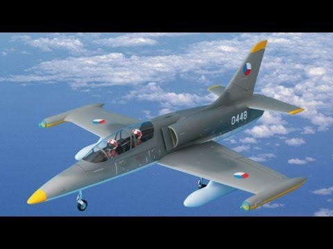 Quick look at the new L-39 Jet,...