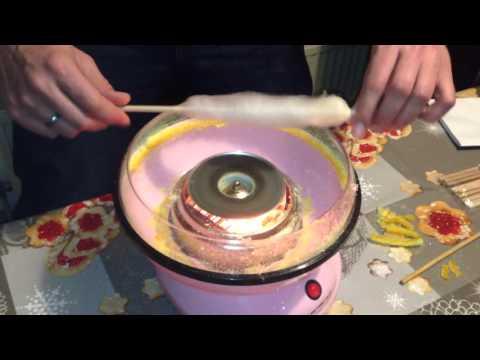 Zuckerwattemaschine für Zuhause - richtige Technik