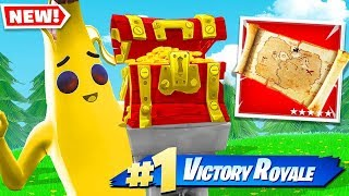 YOU GET BURIED TREASURE FIRST, YOU WIN! *NEW* In Fortnite!