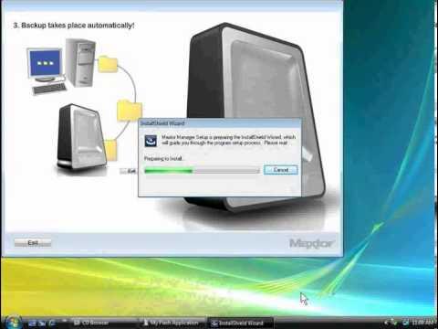OT4 Plus Software Installation on a Windows Vista System