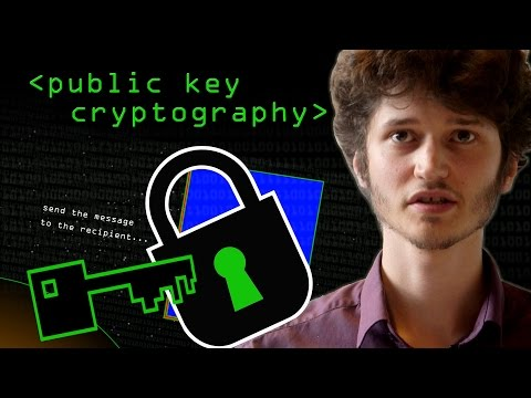 Public - Spies used to meet in the park to exchange code words, now things have moved on - Robert Miles explains the principle of Public/Private Key Cryptography note1: Yes, it should have been 'Obi...