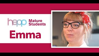 Mature Student Stories Film – Emma