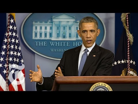 Year - Click here 00:26:47 to skip to the start of the press conference. President Obama defended his economic, health care and foreign policies on Friday, declaring in a year-end news conference...