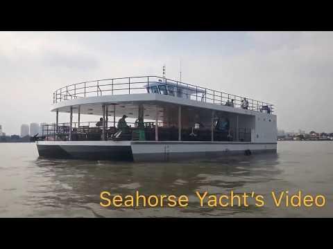 Du Thuyền Ngựa Biển - Tàu nhà hàng 3 thân 146 khách