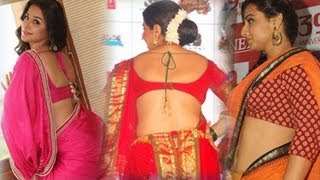 Vidya Balan's Hot Saree Photo shoot