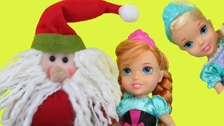 Video SANTA comes to ELSA & ANNA toddlers ! One of them can't find her gift! Lots of Christmas presents! MP3, 3GP, MP4, WEBM, AVI, FLV November 2018