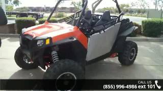 5. 2013 Polaris RZR XP 900 EPS Orange Madness and Blue LE  -...