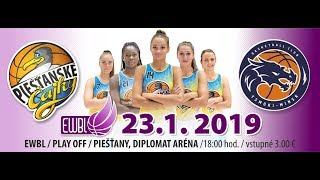 Piestanske Cajky – Tsmoki Minsk – EWBL play-off 2018/19
