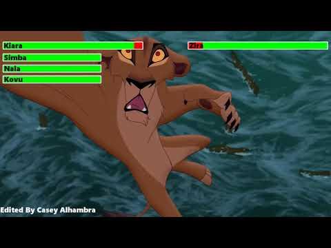 The Lion King 2: Simba's Pride Final Battle with healthbars