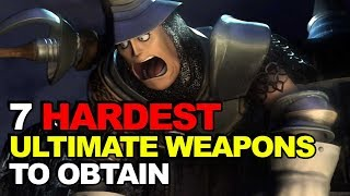 Video Top 7 Hardest Ultimate Weapons To Obtain (Final Fantasy Edition) MP3, 3GP, MP4, WEBM, AVI, FLV Oktober 2018