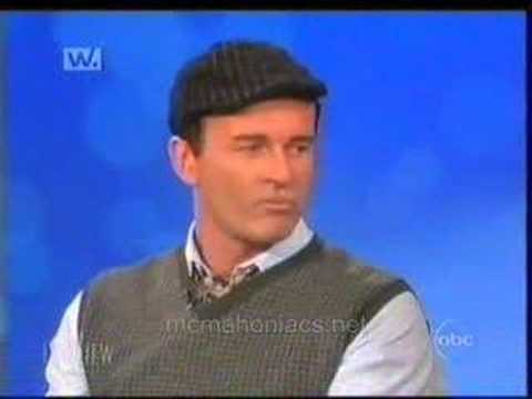 Julian McMahon on The View Oct 2006