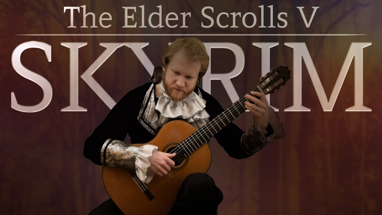 The Elder Scrolls V: Skyrim – The Bannered Mare (Acoustic Classical Guitar Cover by Jonas Lefvert)