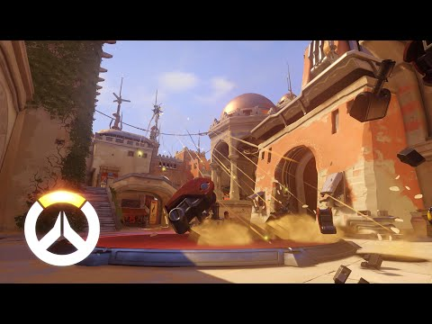 Overwatch - Pharah Gameplay Preview