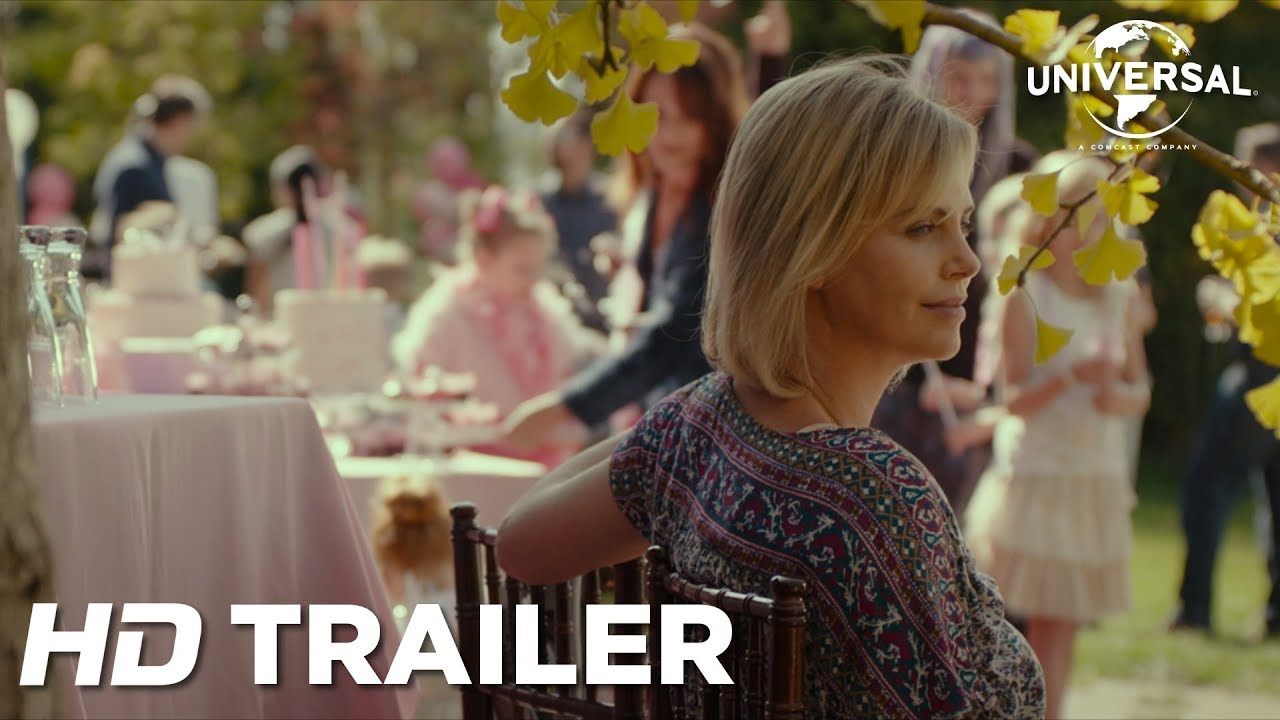 See how the Mother half Lives in 'Tully' starring Charlize Theron in a 2018 Story about Motherhood with Mackenzie Davis & Ron Livingston
