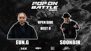 Eun-G vs Soon Bin – POP ON BATTLE 2020 Open side Best 8