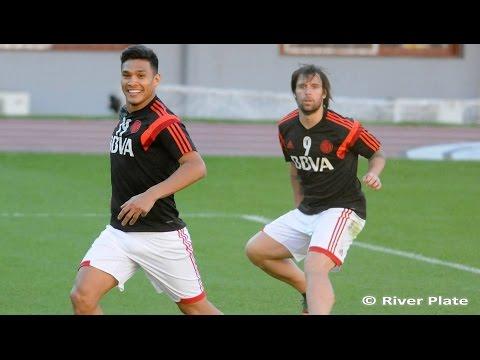 River se entrenó pensando en la Sudamericana