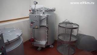 Видео: Автоклавы для консервирования на 270 и 550 литров ИПКС-128-500.