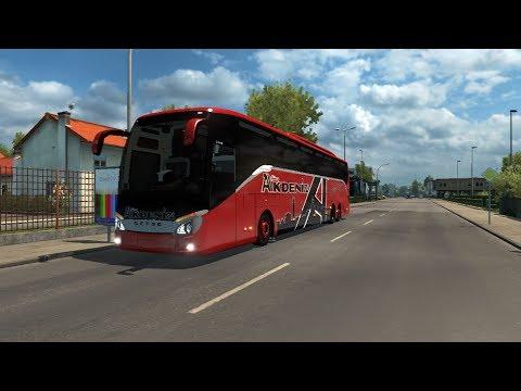 Setra 519 HDH Bus 2017 v3 for ETS2