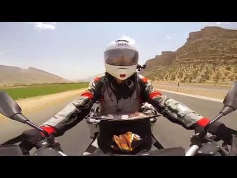380days 51000km 43countries one man one motorcycle Travel around the world