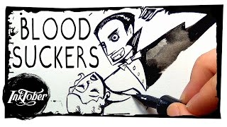 BLOODSUCKERS || Inktober drawing! #2