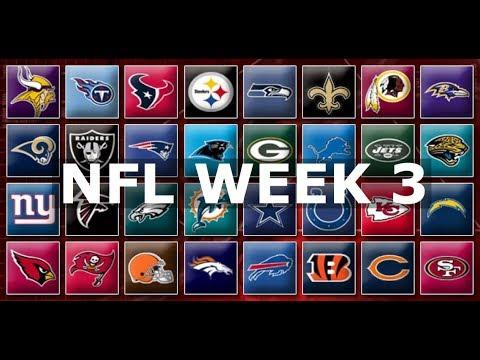 NFL Week 3 Picks & Predictions 2019 | 2020