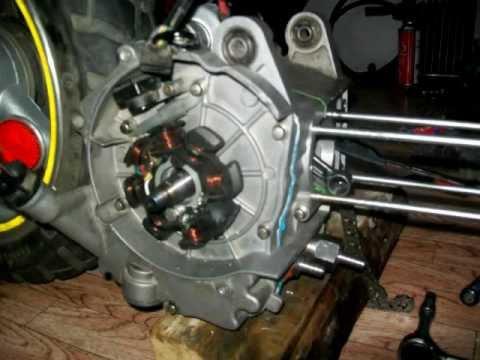 Как получить искру на скутере без рамы 78